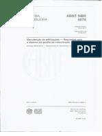 NBR 5674 - 2012 - Manutenção de edificações - Procedimento.pdf