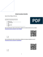 Entity Formation Checklist DHZ Rev 20140701