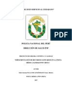 Proyecto de Mejora Continua - Dr. Palacios