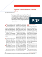 Dixon_2013_Information Technology Disaster Recovery Planning for Court Institutions