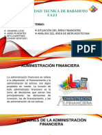 GRUPO N°3-DEPARTAMENTOS DE MARKETING Y FINANZAS