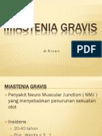 Miastenia Gravis Rivan
