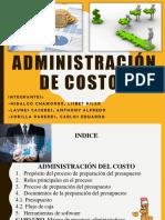 Administración de Costos - Administracion de Costos