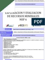 Niif 6 - Exploracion y Evaluacion de Recursos Minerales