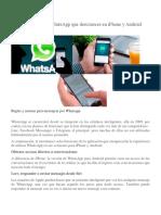 8 Funciones de WhatsApp Que Desconoces en iPhone y Android