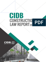 CIDB Law Report 2015