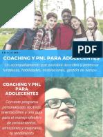 Coaching y Pnl Para Adolescntes
