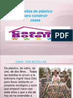PROYECTO DE VIVIENDA (BOTELLAS)