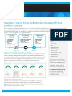 Structured Finance Portal an End to End Structured Finance Analytics Solution
