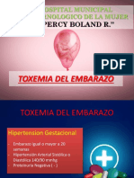 Toxemia del Embarazo - HPBR - Dra. Yepez.pptx