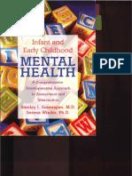 Infant Mental Health, Libro Greenspand