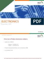 IBEF-IndiaElectronics-Sept2009