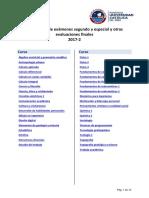 Calendario de devolución examenes finales-PUCP