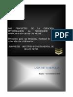 Creacion-Investigación - Asprilla, Los Productos de Creacion-Investigación