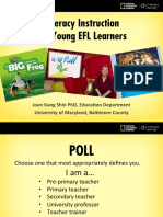 Literacy Instruction Young Efl Learners