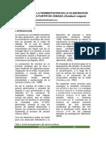 Evaluacion de La Fermentacion en La Elaboracion de La Cerveza (1)