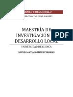 El Desarrollo Desde El Punto de Vista Humano, De Libertades y Capacidades. Xavier Mendez