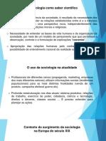 Contexto Do Surgimento Da Sociologia (1)