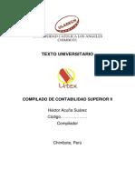 Texto Compilado de Contabil Super II