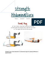 strength- abdominal 2fcore