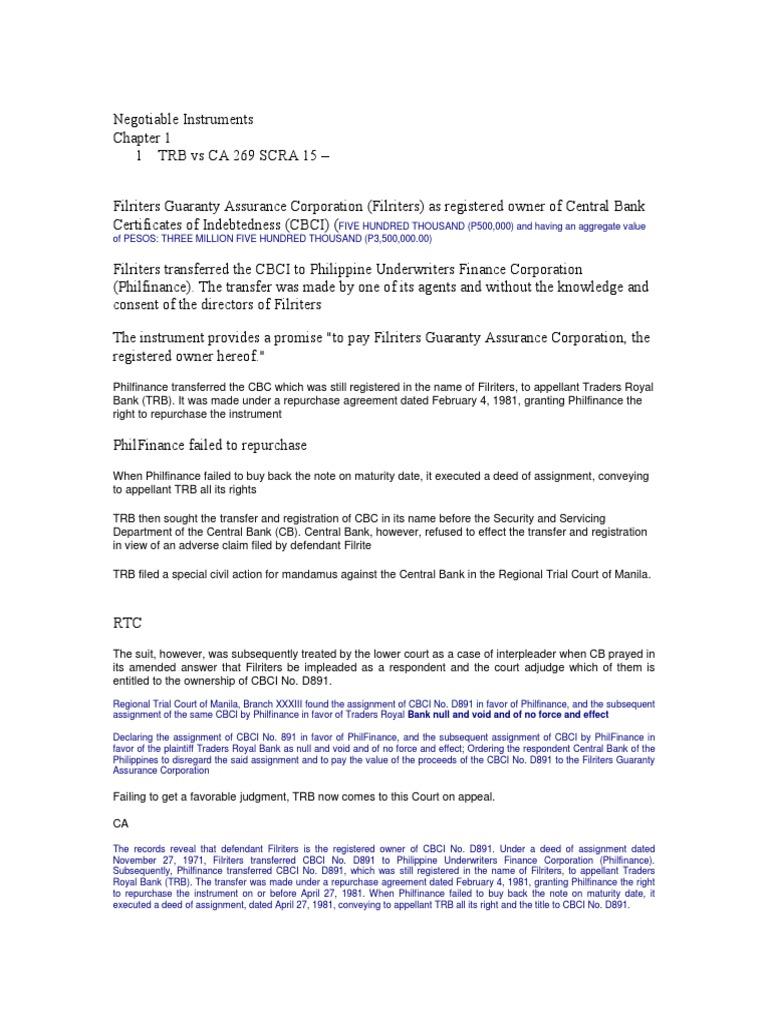 Negotiable Instruments | Negotiable Instrument | Law Of Agency