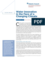 Water Innovation in the Face of a Changing Climate