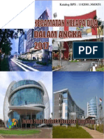 BPS Tangerang Kabupaten Kecamatan Kelapa Dua Dalam Angka 2017