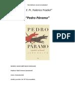 Avance de Pedro Páramo