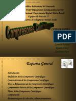 COMPRESORS CENTRIFUGOS