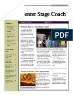 stagecoachnewsletter  maan front page