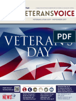 Veterans Voice Newsletter, November 2017