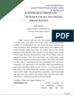 Jurnal Ekologi Perairan