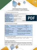 Guía de Actividades y Rúbrica de Evaluación - Fase Final - Evaluación Final Del Curso.