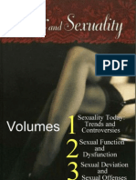 Sex and Sexuality ( Three Volumes )