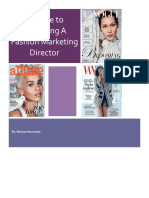 a guide to becoming a fashion market editor