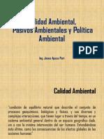05 Calidad Ambiental y Politica Ambiental