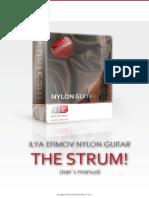 Ilya Efimov Nylon Guitar Strum Manual