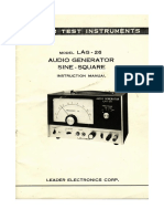 Leader AudioGenerator AG-26