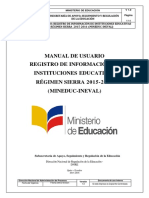 Manual de Usuario Registro Ineval Regimen Sierra