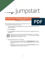 KDP Formating eBook