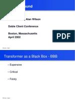 2002 Doble Conference FRA Introduction Doble Client Conferen