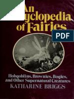 Briggs Katharine Mary - An Encyclopedia of Fairies