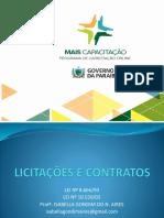 SLIDES - LICITAÇÃO e CONTRATO - ISABELLA GONDIM (1).pptx