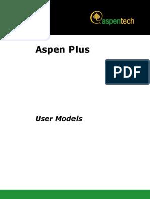 AspenPlusUserModelsV7 0 Ref | Component Object Model