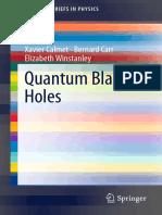 Calmet. Quantum Black Holes