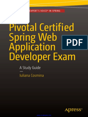 Pivotal Certified Spring Web Application Developer Exam a