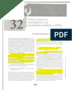 Cap 32. Edema Pulmonar Cardiogénico y No Cardiogénico Distinto a Sdra
