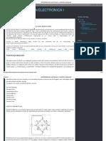 Instrumentación Electronica I_ Puentes de Medición