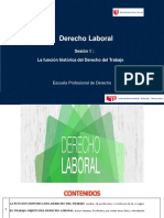 La Funcion Historica Del Derecho Del Trabajo