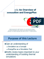 Lecture 01 Simulation Overview